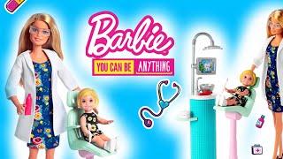 Barbie Dentysta  Stomatolog potrzebny od zaraz  bajki dla dzieci