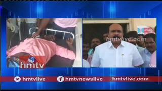 Clash Between TDP And YCP Activists | Victims Admitted in Hospital | Dachepalle | Telugu News | hmtv