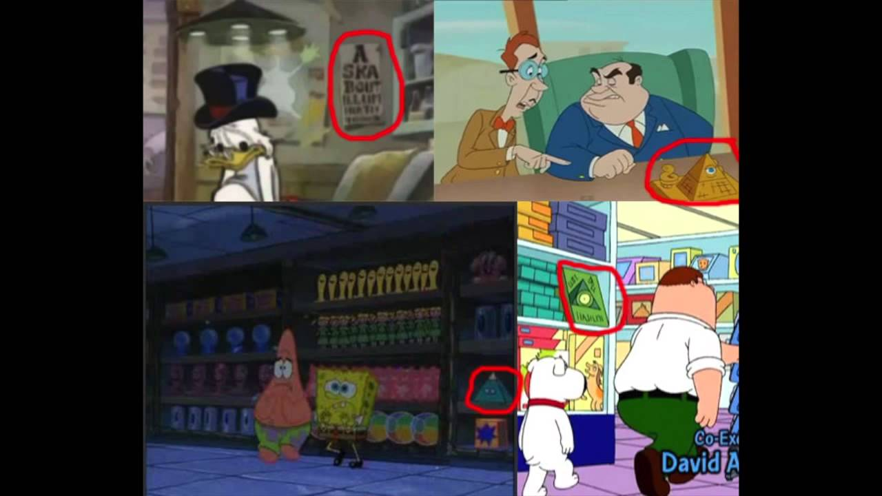 illuminati in cartoons untara elkona