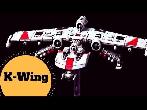 The New Republic K-Wing - BTL-S8 K-wing assault starfighter - Star Wars Ships Lore Explained