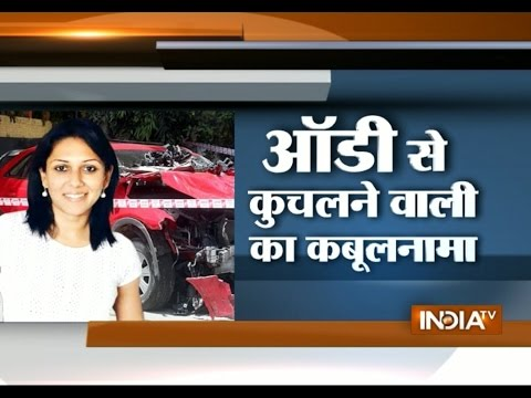 Mumbai Audi Case: Corporate Lawyer Janhavi Gadkar Confesses Her Crime | India Tv