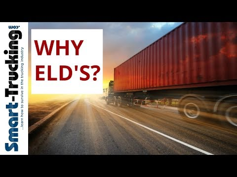 A Big Reason WHY That ELD Is In YOUR Truck