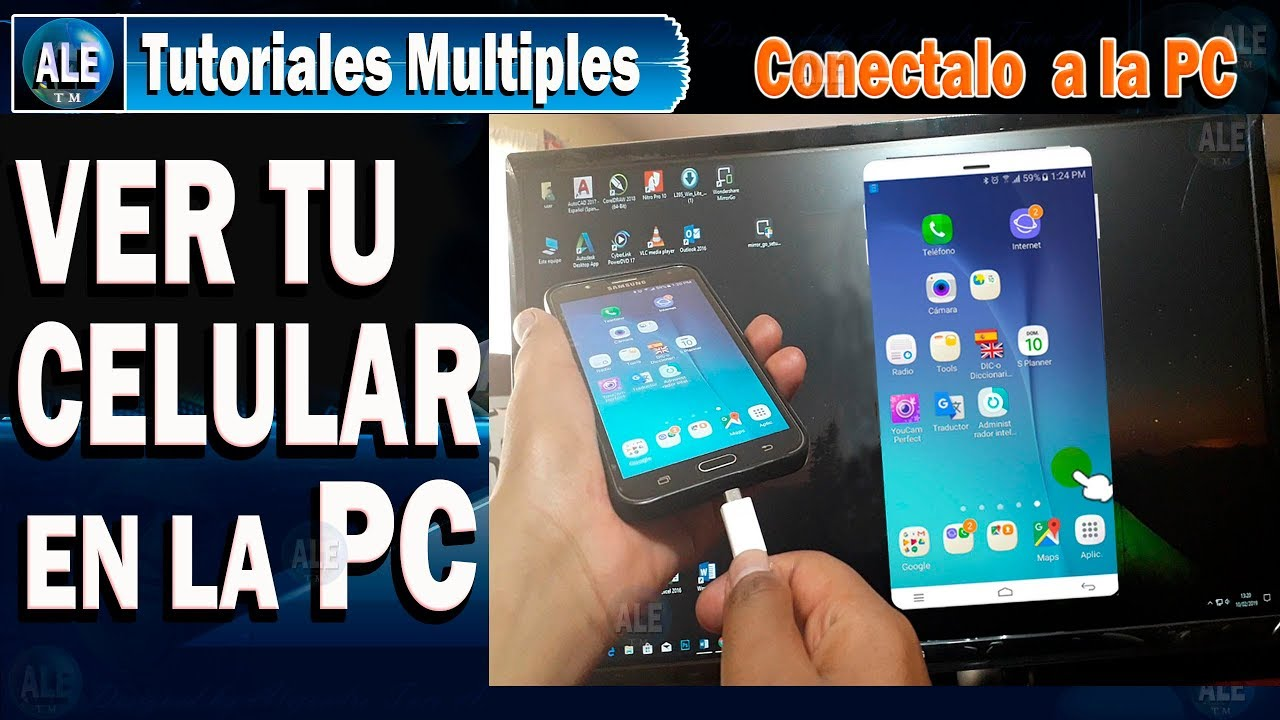 APPS para proyectar Android en PC