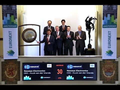 Renewed Neways board of directors visits Euronext Amsterdam