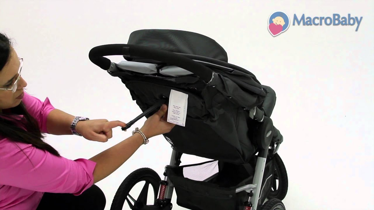 Graco Jogger Relay Snugride Connect 30 Travel System