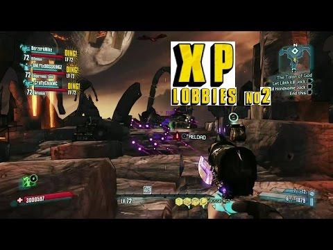 Borderlands 2 level 72 xp lobbies #2