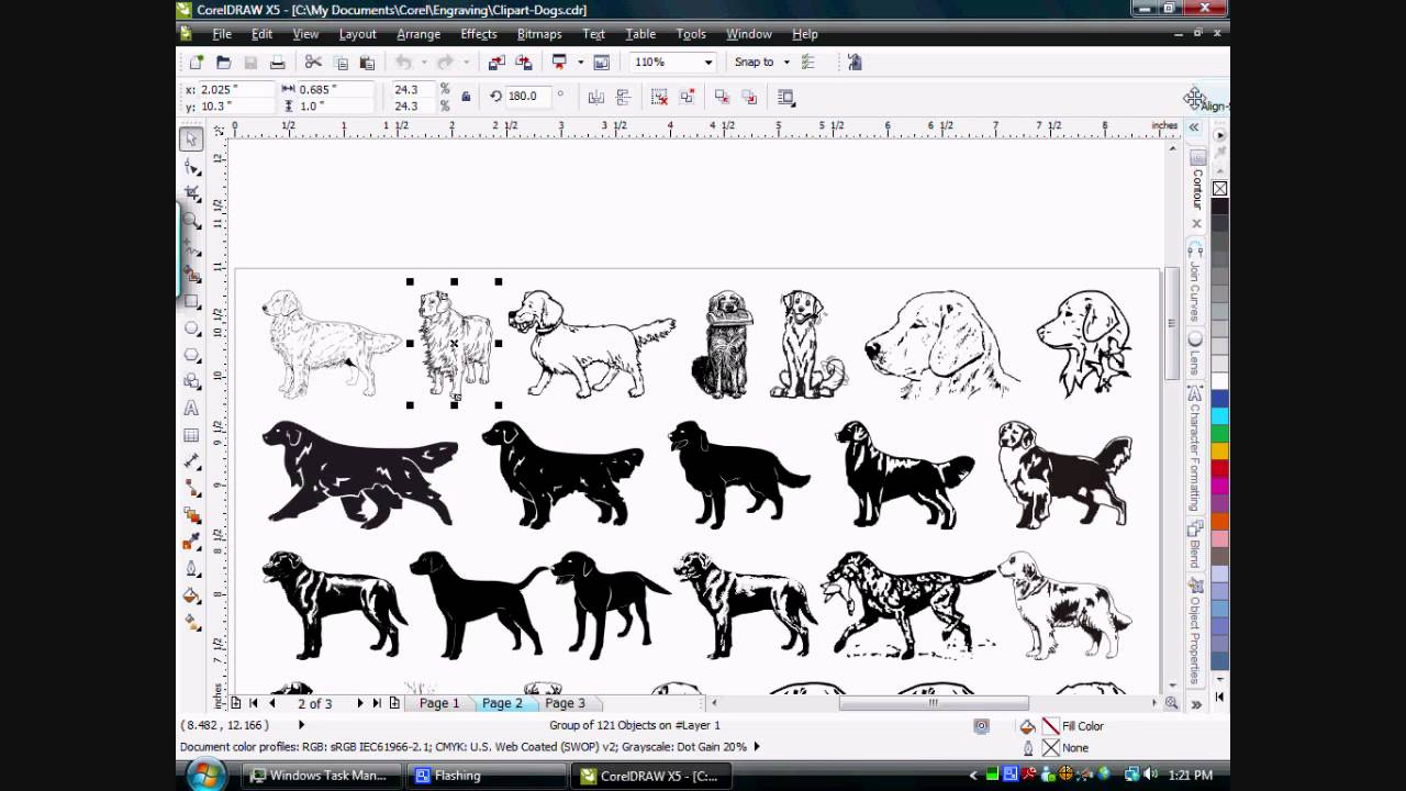 Corel draw clipart images - Coreldraw Automation Make Thumbnail Function