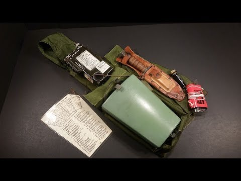 1967-vietnam-us-leg-holster-pilot-survival-kit-review-vintage-military-gadget-testing
