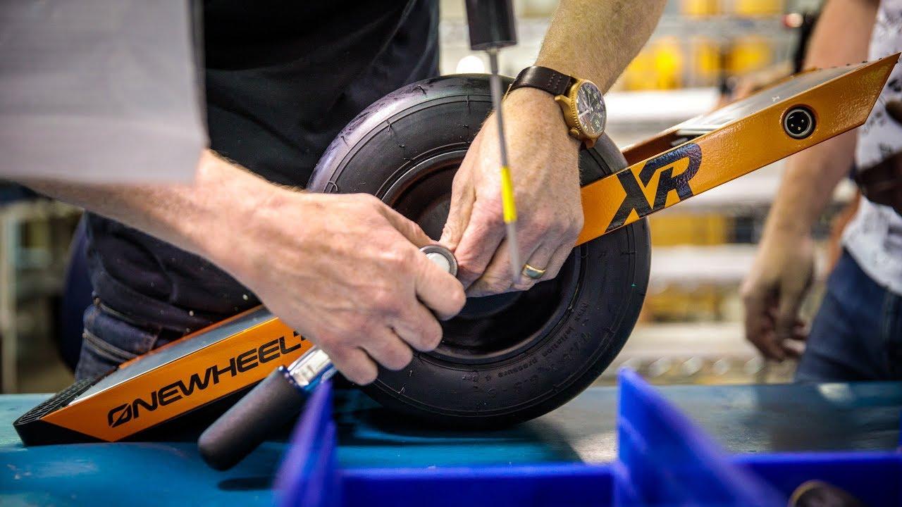 Watch Adam Savage Build a Onewheel Electric Skateboard