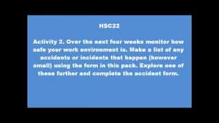 qcf nvq level 2 health social care unit 22 answers