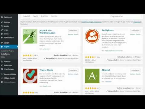 2. Plugin installieren – WordPress für Anfänger