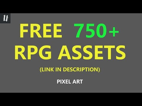 FINISHED 750+ RPG assets (FREE) - what I made and where to