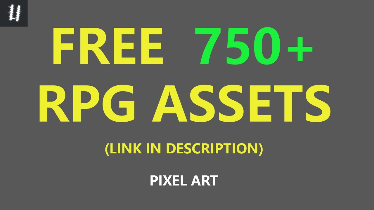 FINISHED 750+ RPG assets (FREE) - what I made and where to get it