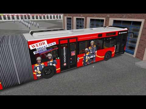 OMSI 2 - Hamburg Buses 2018 - Bus Depot Route! 4K