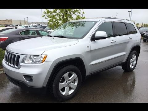 Pre Owned Silver  Jeep Grand Cherokee Wd Laredo Fort Mcmurray Alberta