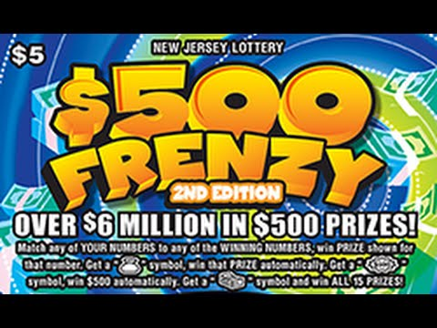 New jersey lottery instant winners