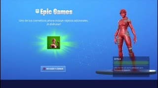 NEW STYLE SKIN*TOY SOLDIER*RED IN FORTNITE Season 10