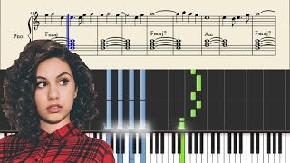 Alessia Cara - Scars To Your Beautiful - EASY Piano Tutorial + SHEETS