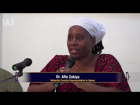 Dr  Afia Zakiya: Decolonizing Knowledge on WASH in Africa:  The significance of African Culture