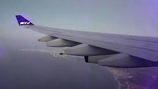 JOON Airbus A340 beautiful flight from Paris CDG to Fortaleza