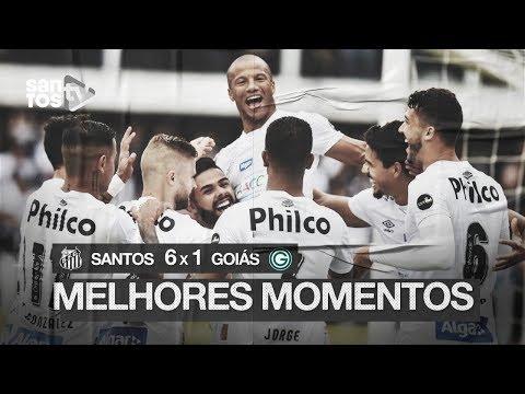 SANTOS 6 X 1 GOIÁS | MELHORES MOMENTOS | BRASILEIRÃO (04/08/19)