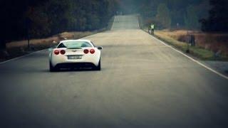 LOUD Corvette C6 Z06 w/ Corsa Exhaust Accelerating!! - 1080p HD
