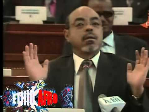 Prime minister meles Zenawi Funny Speech At Parlamaint