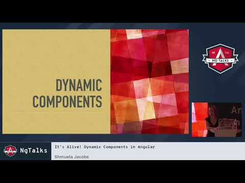 Shmuela Jacobs It S Alive Dynamic Components In Angular