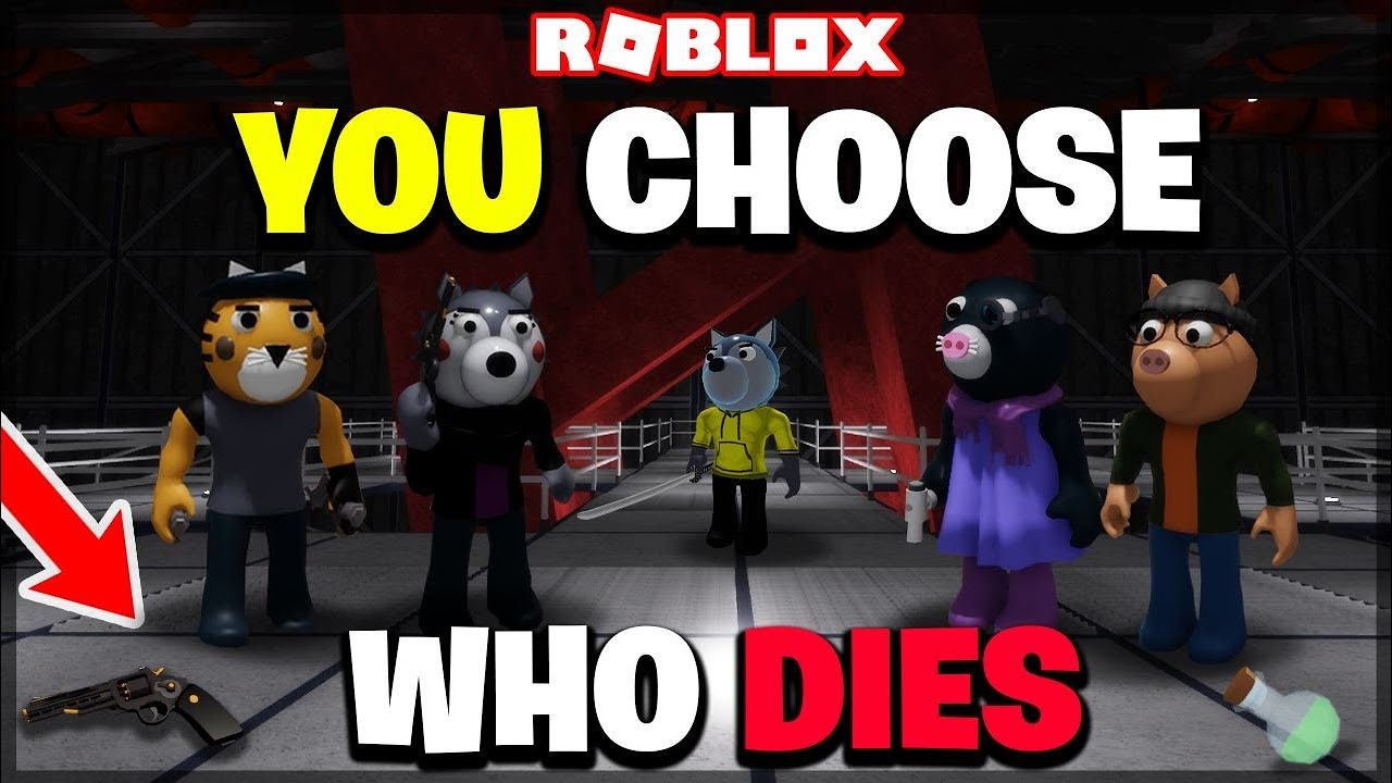 *NEW* YOU CHOOSE WHO DIES!! (Roblox Piggy Book 2: Chapter 6)