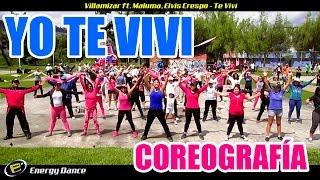 TE VIVI Villamizar Elvis Crespo Maluma Coreografía