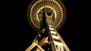Space Needle Tour with AMAZING sunset.
