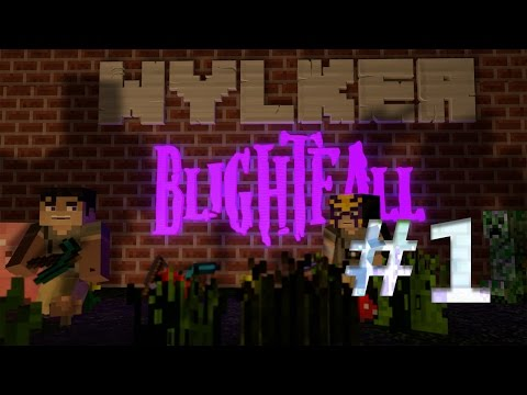 Wylker's Let's Play Minecraft: Blightfall Episode 1