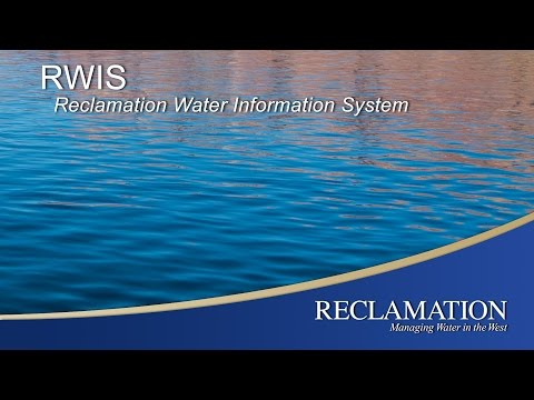RWIS - Reclamation Water Information System