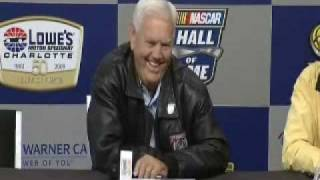 2009 Lowes2 Oct Junior Johnson on headstone not cheat video clip