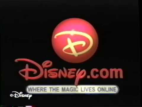 Disney.com - Where the Magic Lives Online (1999) Promo (VHS Capture)