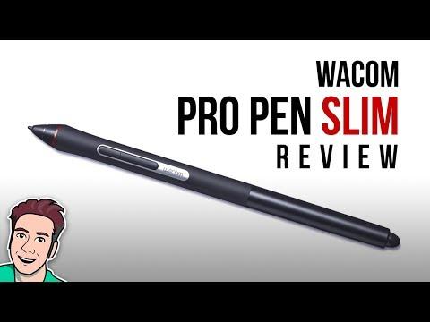 Wacom PRO PEN SLIM Review - YouTube