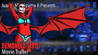 Demonoid (1971): Trailer on VHS - Moctezuma Film