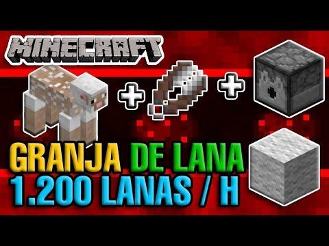 Generador De Lana 1.200 Lanas / H AFK // Minecraft 1.14.2