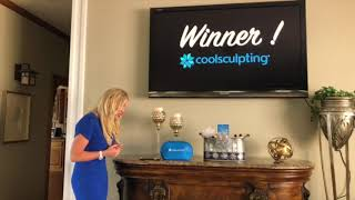 Pretty Skinny Show - Subscriber wins FREE Coolsculpting treatment.