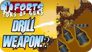 Sneakiest Weapon Ever, Omega Drill Forts Multiplayer Gameplay