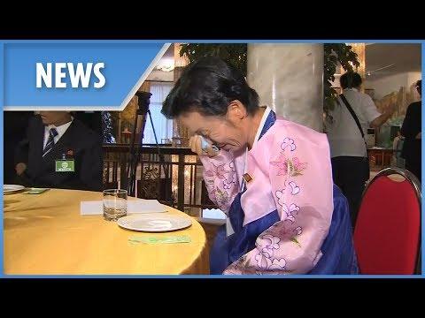 South and North Korean relatives reunite