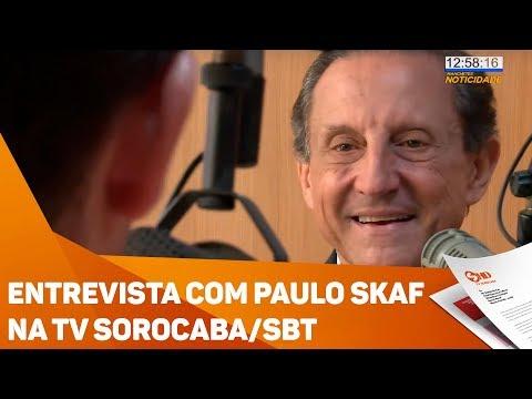 Entrevista com Paulo Skaf na TV Sorocaba/SBT - TV SOROCABA/SBT