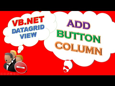 VB.NET DataGridView -  Add Button Column,Handle Click Events