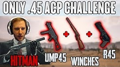 HITMAN in PUBG - ChocoTaco solo .45 ACP only Challenge | PUBG HIGHLIGHTS #209