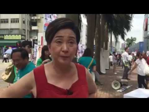 Ms Emily Lau, chairman of HK's Democratic Party