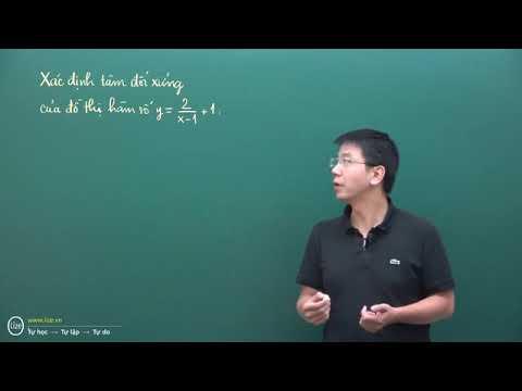 TH01_Hàm số – 07 – 02: Xác định tâm đối xứng của đồ thị hàm số
