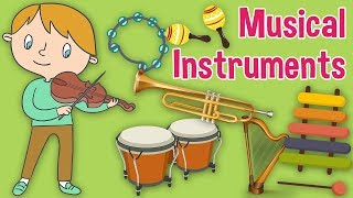 Musical Instrument Sounds for Kids by Oxbridge Baby