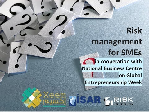 Short free course on risk management for small and medium sized business