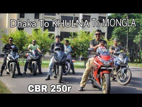Fastest Dhaka To Mongla | Bike Tour | Mirza Anik | Thunder Vlog | Episode 1..