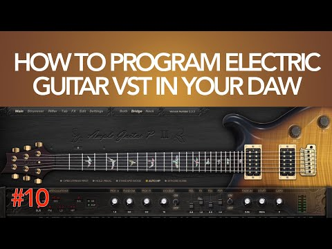How To Program Electric Guitar VST In Your DAW: Exercise #10